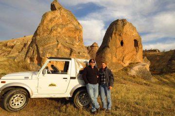 Jeep Tur en Capadocia