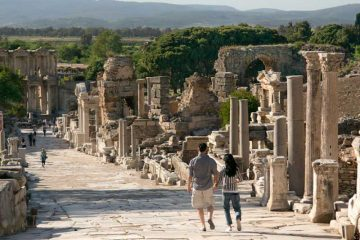 la clasica ciudad de Éfeso