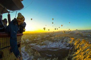 Excursión en globo aerostático
